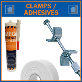 Clamps & Adhesives